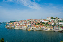View of Porto city on summer day Stock Photo
