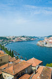 The view of porto city on summer day Stock Photos