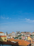 The view of porto city on summer day Royalty Free Stock Image