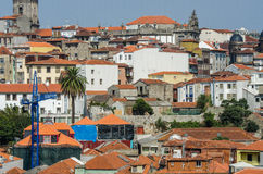 The view of porto city on summer day Stock Image