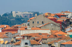 The view of porto city on summer day Royalty Free Stock Photo
