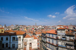 View of Porto city on summer day Stock Photography