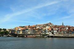 View of Porto. Cruise on the river Douro in Porto Stock Image