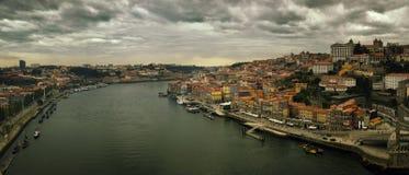VIew of Porto and Douro river, Portugal Stock Photos