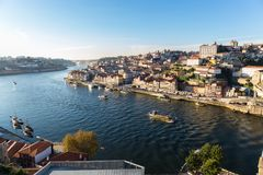 View of Porto and the Douro River royalty free stock photo