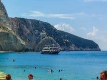 View of Porto Katsiki Beach royalty free stock photo