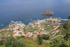 View of Porto Moniz, Madeira royalty free stock photos