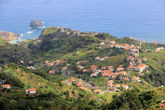 View of Porto Moniz, Madeira royalty free stock photo