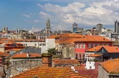 View of Porto old town, Portugal Royalty Free Stock Photos