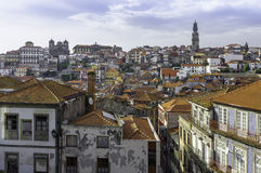 View of Porto, old town, Portugal, Europe. Royalty Free Stock Photography
