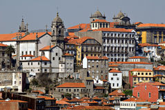 View of Porto, Portugal. stock photo