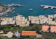 View of porto venere italy Royalty Free Stock Photo