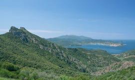 View of Portoferraio,Elba Island,Italy Stock Image