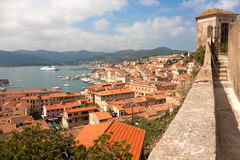 View Of Portoferraio From Forte Stella royalty free stock photo