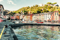 View of Portofino Stock Images
