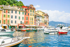 View of Portofino, Cinque Terre, Italy Royalty Free Stock Image