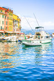 View of Portofino, Cinque Terre, Italy Stock Photography