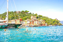 View of Portofino, Cinque Terre, Italy Stock Image