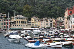 View of Portofino, Italy Royalty Free Stock Photos