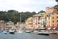 View of Portofino, Italy Royalty Free Stock Images