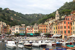 View of Portofino, Italy Stock Images