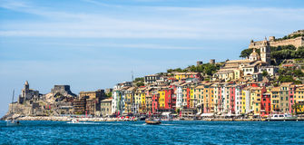View of Portovenere, Cinque terre, Italy Stock Photography