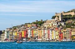 View of Portovenere, Cinque terre, Italy Stock Photos