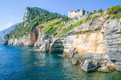 View of Portovenere, Italy Stock Images