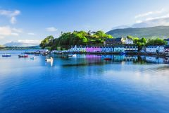 Portree Harbour Royalty Free Stock Images