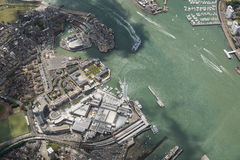View of Portsmouth Harbour Stock Images