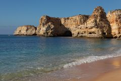 View of Portugal , Algarve Royalty Free Stock Photos