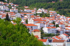 View on portuguese city Stock Photo