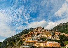 View on Positano at Amalfi coast, Campania, Italy Stock Photos