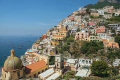 View of Positano, Amalfi Coast, Campania region, Italy Royalty Free Stock Image