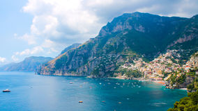 View of Positano Royalty Free Stock Images