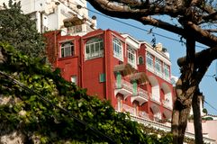 View of Positano Amalfi Coast Italy. Glimpse of Positano Amalfi Coast Italy Royalty Free Stock Photo