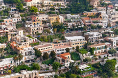 View of Positano, Italy Royalty Free Stock Images