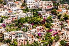 View of Positano Stock Photos