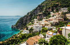 View of Positano Stock Images