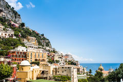 View of Positano Stock Photography