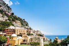 View of Positano Stock Photography