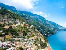 View of Positano Royalty Free Stock Photo