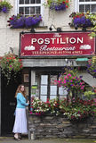 A View of the Postilion Restaurant, Ash Street Stock Photography