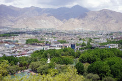 View from Potala palace Royalty Free Stock Photography