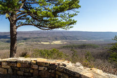 View from Potts Mountain, Virginia Stock Images