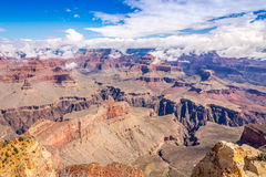 View from Powell point at the Grand Canyon Royalty Free Stock Photo