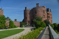 A View of Powis Castle Wales Stock Photography
