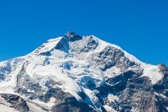 View of the pPiz Bernina form Diavolezza Stock Photos