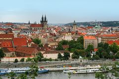 View on the Prague Royalty Free Stock Image
