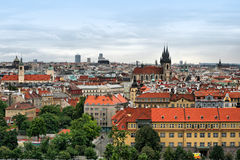 View on the Prague Royalty Free Stock Photo